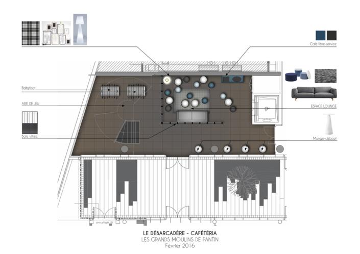 Débarcadère - Grand Moulin de Pantin